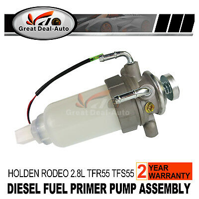 Fuel Pump Assembly Diesel Primer For Holden Rodeo TFR55 TFS55 4JB1-T 2.8L 90-02