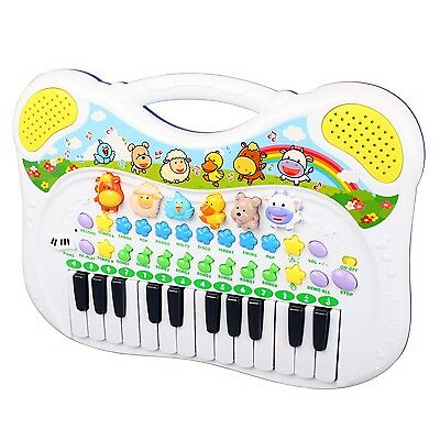 Simon 2062 Musikfreunde Kinder Keyboard Tierstimmen-Klavier Animal Piano