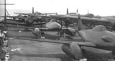 WWII Secret Photo Captured Axis Aircraft  WW2  / 6026