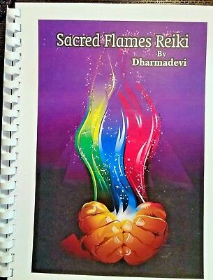 SACRED FLAMES Reiki Attunements with Book & Certificate of Completion