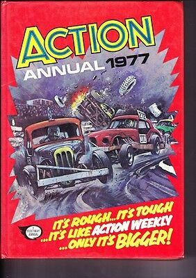 1977 Hardcover Book Teenage Annual Action