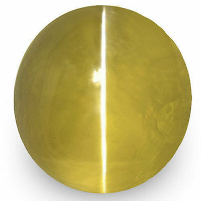 1.99-Carat Beautiful IGI-Certified Intense Yellow Ceylon Chrysoberyl Cat's Eye