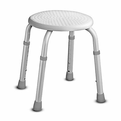 Height Adjustable Shower Bath Stool Seat Chair Non Slip Mobility Aid Disability