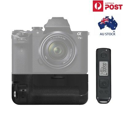 Meike MK-A7II Pro Wireless Control Battery Grip for Sony A7 II A7R II as VG-C2EM