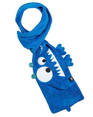 Animal Mylow Roll Up Boys Scarf in Blue