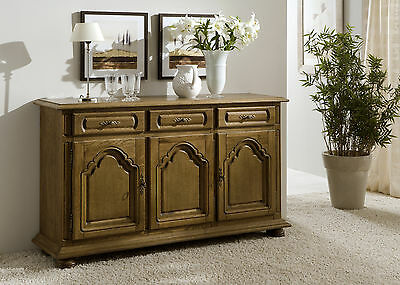 sideboard eiche rustikal eur 54 00 picclick de. Black Bedroom Furniture Sets. Home Design Ideas