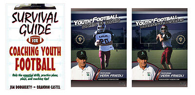 New Youth Football Book and DVDs - Free Shipping