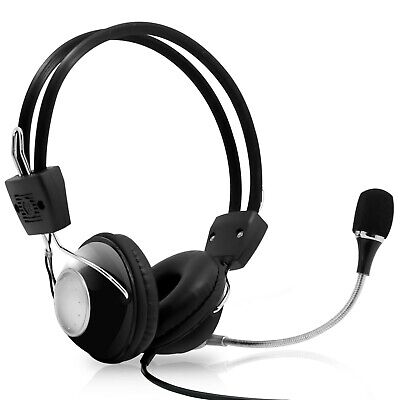 Pyle PHPMCU10 Multimedia/Gaming USB Headset with Noise-Canceling