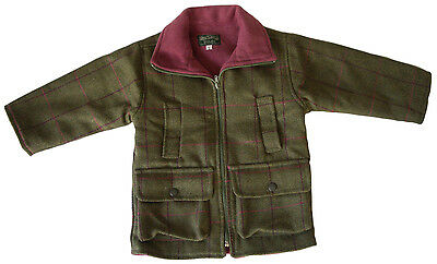 Children's Tweed Jacket - 2 Different Linings - Shire Classics