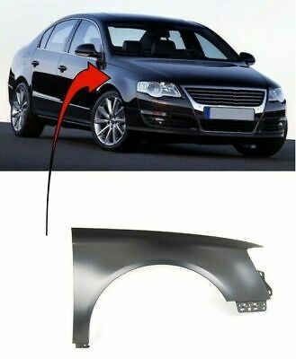Vw Passat B6 2005-2010 Front Wing Primed Driver Side New Insurance Approved