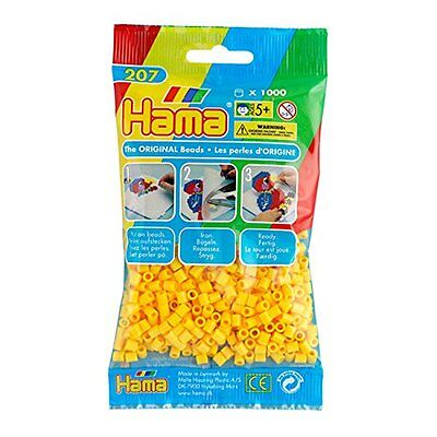 1000 Hama Clear 207-19 Color Iron On Midi Beads