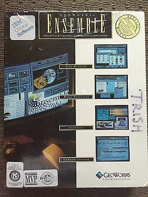 Geoworks Ensemble FACTORY SEALED!! BRAND NEW!!