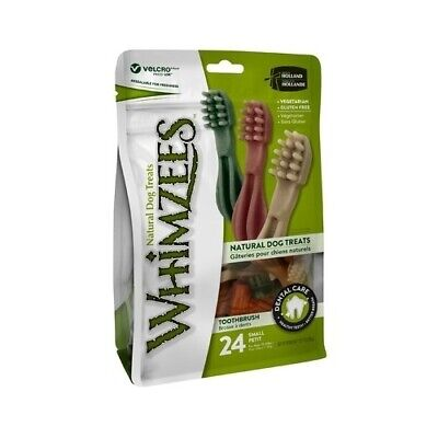 Whimzees Veggie Treats Toothbrush Small - 24-Pack