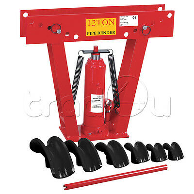 12 tonne Hydraulic Pipe Bender Tube Bender Dies 5 dies/6 dies option!! New Pro