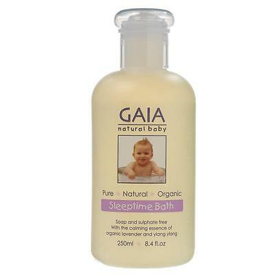 Gaia Natural Baby Sleeptime Bath Wash 250ml-Sleeping time Sleep time Wash