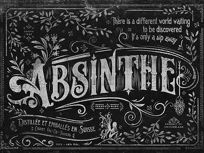 Prohibition Series Absinthe V1 Playing Cards New Deck