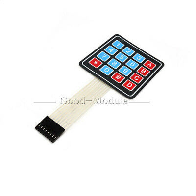 4 x 4 Matrix Array 16 Key Membrane Switch Keypad Keyboard for Arduino/AVR/PIC GM