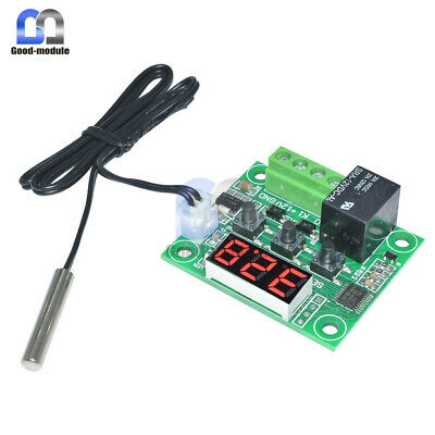W1209 Digital thermostat Temperature Control Switch 12V sensor Module -50-110°C