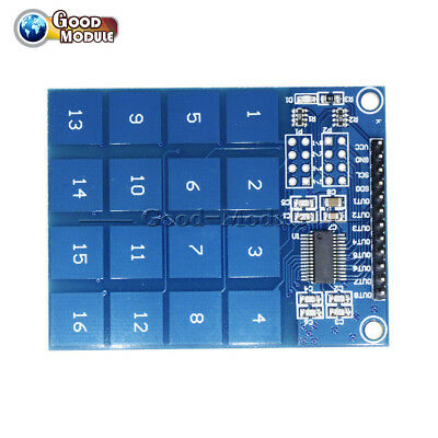 Arduino TTP229 16 Channel Digital Capacitive Switch Touch Sensor Module GM