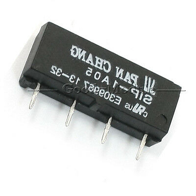 5V Relay SIP-1A05 Reed Switch Relay for PAN CHANG Relay 4PIN New GM