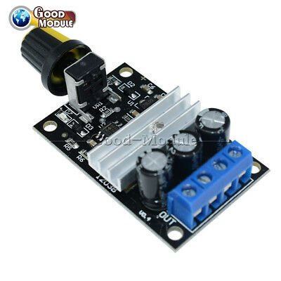 DC 6-28V 3A PWM Motor Speed Controller Regulator Speed Control Switch/& Jh