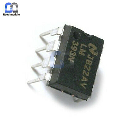 20Pcs LM393P LM393N LM393 DIP-8 Low Power Voltage Comparator IC