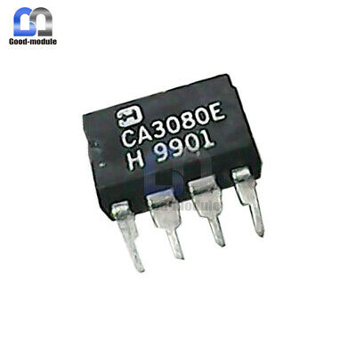 5PCS OP AMP IC HARRIS//INTERSIL DIP8 CA3080E CA3080EZ CA3080 NEW