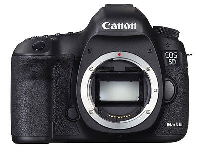 Canon EOS 5D Mark III 22.3 MP Digital SLR Camera - Black (Body Only) Warranty