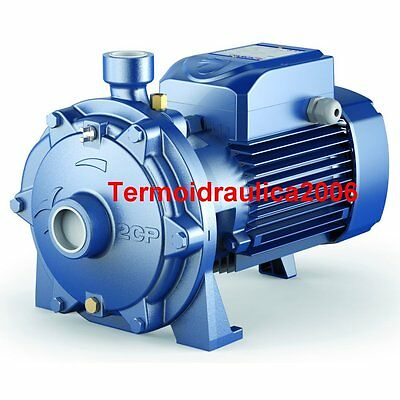 Twin Impeller Electric Water Pump 2CP 32/210B 7,5Hp 400V Pedrollo