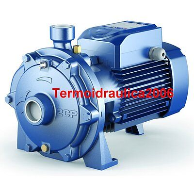 Twin Impeller Electric Water Pump 2CP 40/180B 7,5Hp 400V Pedrollo