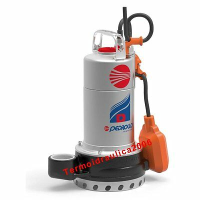 Submersible DRAINAGE Pump for Clean Water Dm20N 1Hp 230V 50Hz Cable5m D Pedrollo