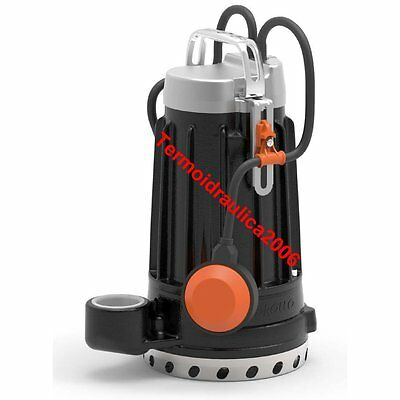 Submersible DRAINAGE Electric Pump clear water DCm8 0,75Hp 230V DC Pedrollo 10m