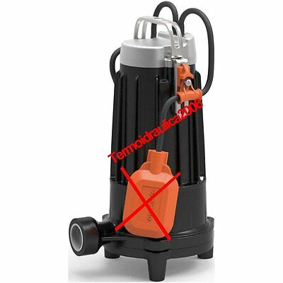 Submersible GRINDER Electric Pump sewage water TR1,1 Tritus 1,5Hp 400V Pedrollo