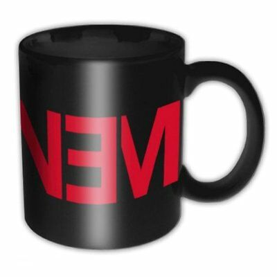 Eminem Marshall Mathers Slim Shady Black Red New Logo Boxed Gift Mug Official