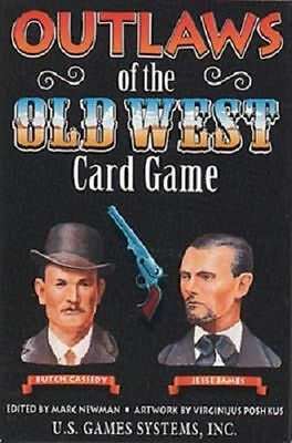Outlaws of the Old West Playing Card Game New