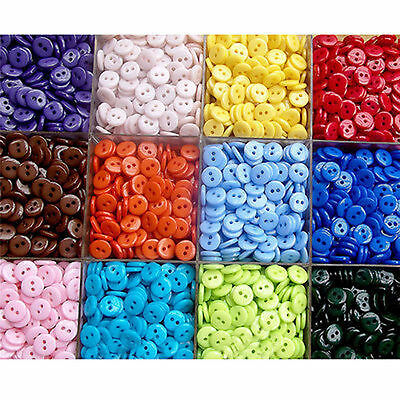 100Pcs Wholesale Mixed Buttons DIY Arts Crafts Card Making Scrapbooking Sewing