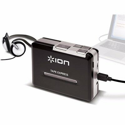 NEW ION Portable Tape To Mp3 Player TAPE-EXPRESS