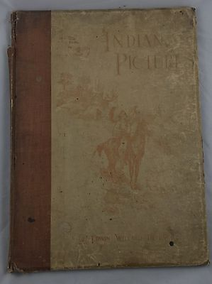 1899 Large Book Of Colored Indian Prints,by Edwin Willard Deming