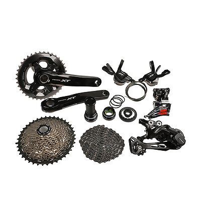Newest SHIMANO Deore XT M8000 Groupset Group Set 11-speed 7pcs New