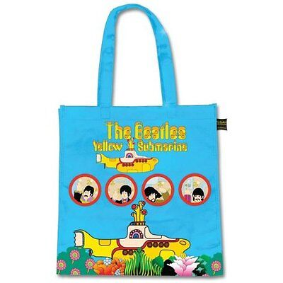 The Beatles Yellow Submarine Cartoon Tote Shopping Bag For Life Gift Official