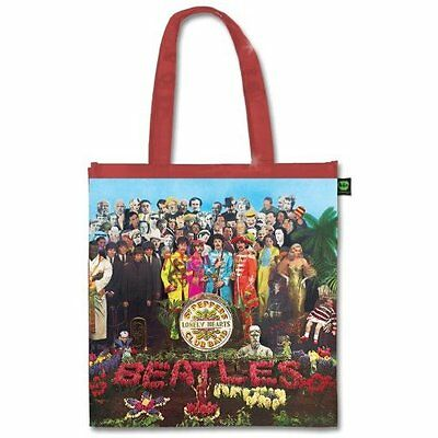 The Beatles Sgt Peppers Album Cover Tote Shopping Bag For Life Gift Officia