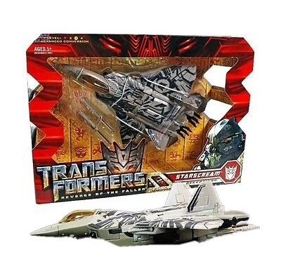 Transformers 2009 Voyager Starscream Toy Action Figure Doll 100% New in Box