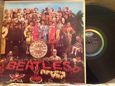 Beatles Sgt Peppers Lonely Hearts Club Band Rare Marble