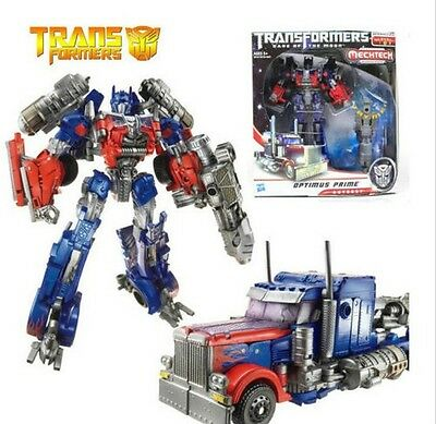 Transformers 3 Voyager Optimus Prime Toy Action Figure Doll 100% New in Box