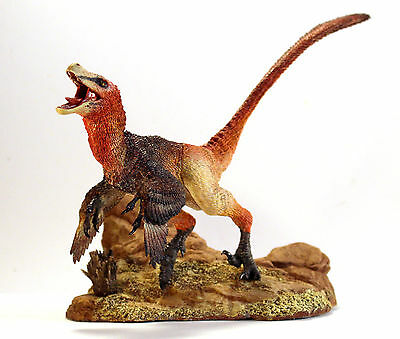 "1/6th scale Velociraptor dinosaur resin model kit 12""- Creative Beast Studio"