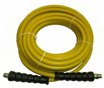 Non-Marking Yellow Pressure Washer Hose - 4000 PSI, 50 ft Length - 50'