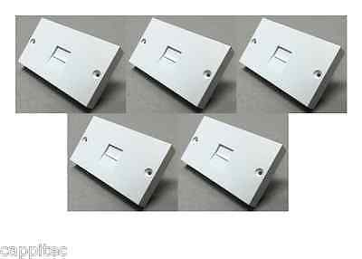 5x REPLACEMENT LOWER FRONT FACEPLATE FILTER FOR NTE5A BT MASTER TELEPHONE SOCKET