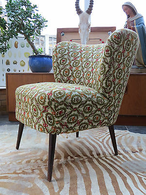 A Single Vintage East German Bartholomew Cocktail Chair C1955 • £280.00