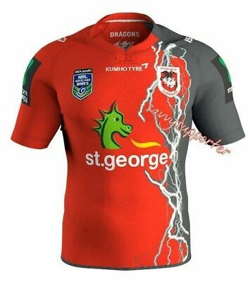 St George Dragons 2016 Auckland 9s Nines Jersey 'Select Size' S-3XL