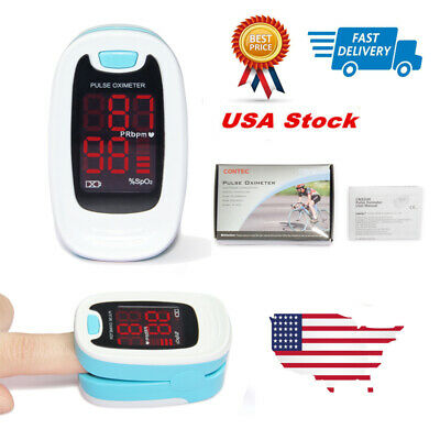CONTEC CMS50M Oximeter Fingertip SpO2 Monitor CE&FDA.USA warehouse to USA